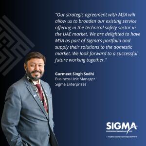 Gurmeet Singh Sodhi, Sigma Enterprises Business Unit Manager